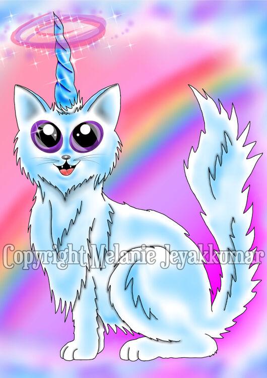 White Kittycorn