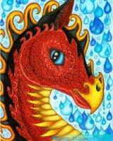 Monsoon the water dragon