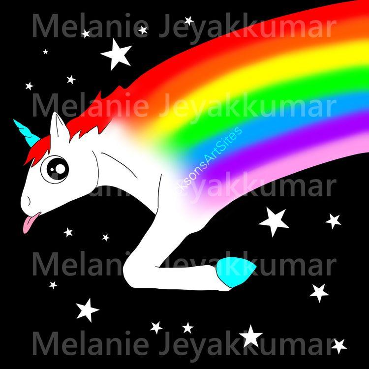 Shooting Rainbow Unicorn