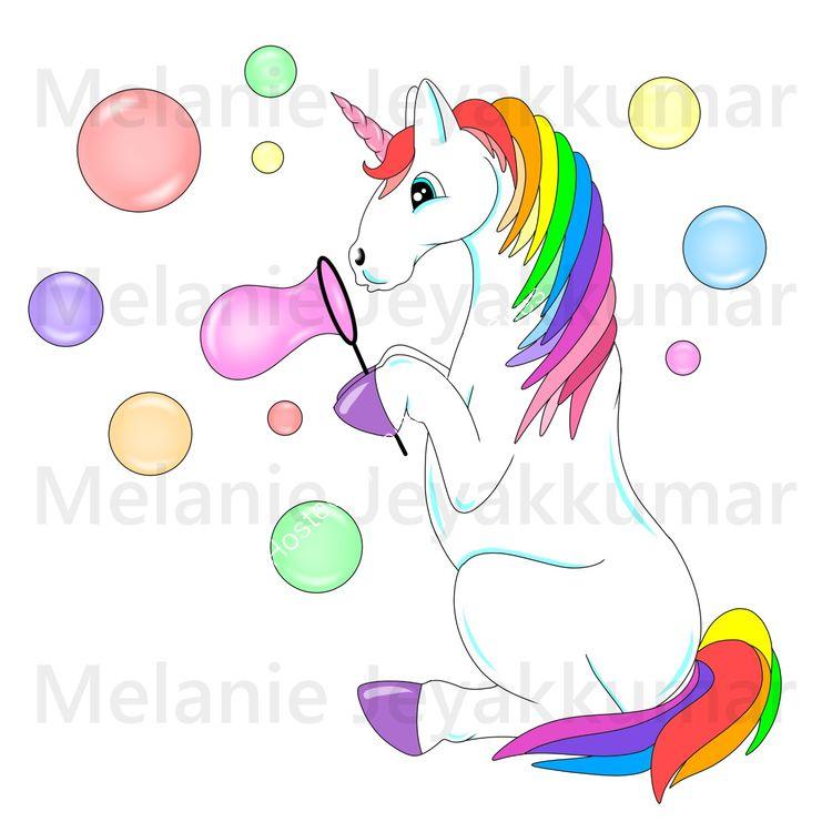 Unicorn Bubble colour