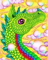 Zephyr the air Dragon