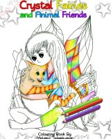 My Crystal Fairies Colouring Book