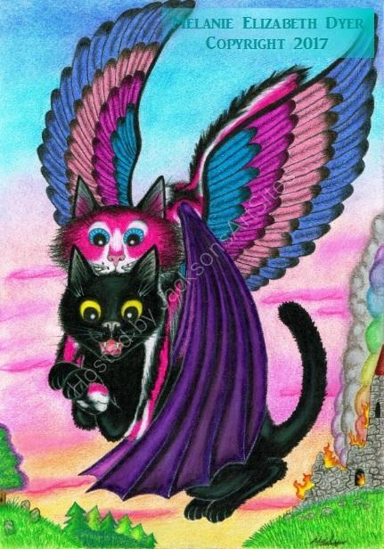 Kosmic saves Raven