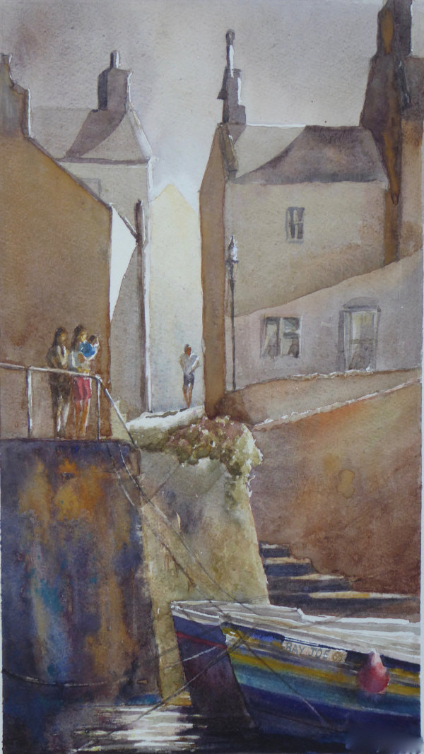 Abram's Steps, Staithes - Sold