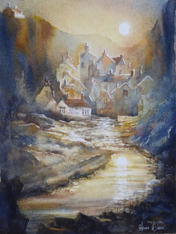 Autumn Evening, Staithes - Sold