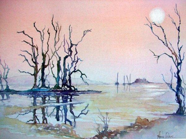 Lakeland trees