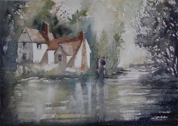 Willy Lott's House, Suffolk