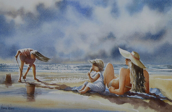 Ice-cream at the Beach