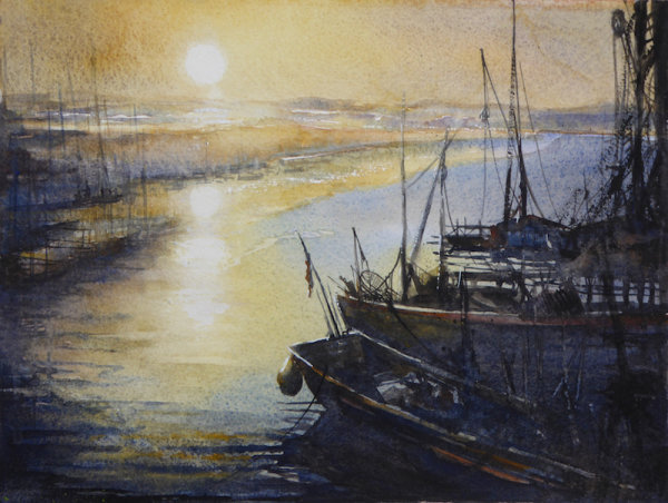 Evening Estuary - Sold