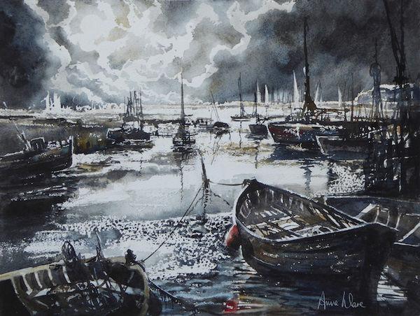 Moonlit Harbour 1