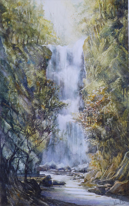 North Yorkshire Waterfall - SOLD