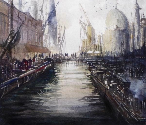 Port of Hull (circa 1800)