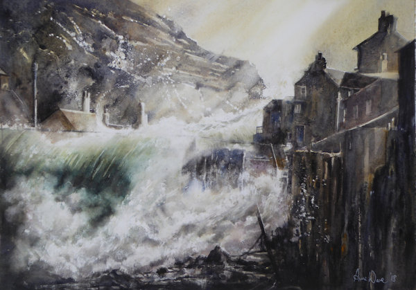 Storm Surge, Staithes Beck - Sold