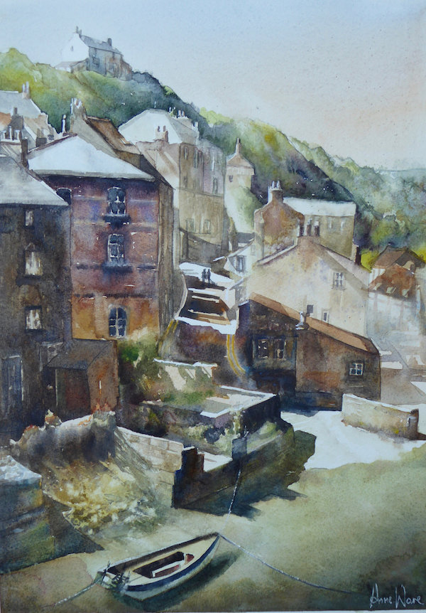 Staithes Summer - Sold