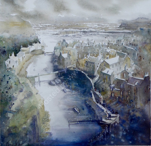 Stormy Staithes - SOLD