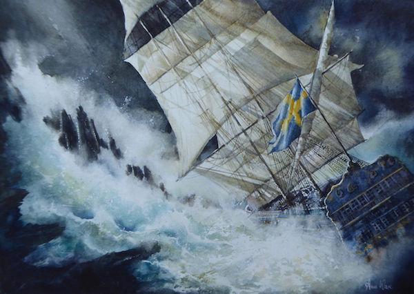 Gotheborg Wreck, 1745