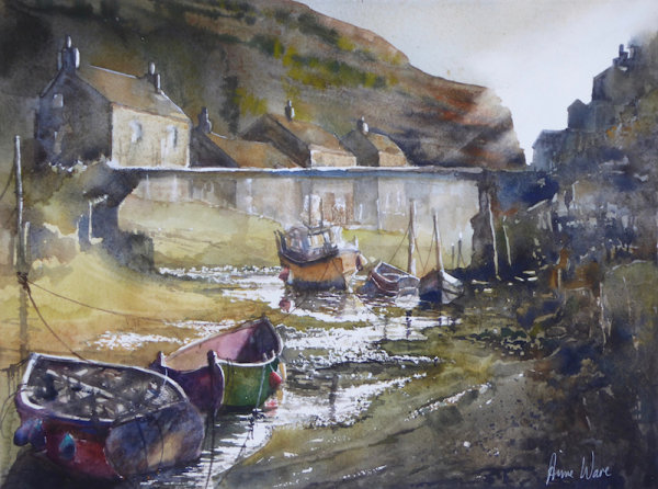Winter Beck, Staithes - Sold