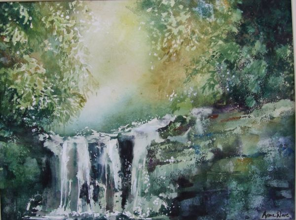 Forest Waterfall - sold
