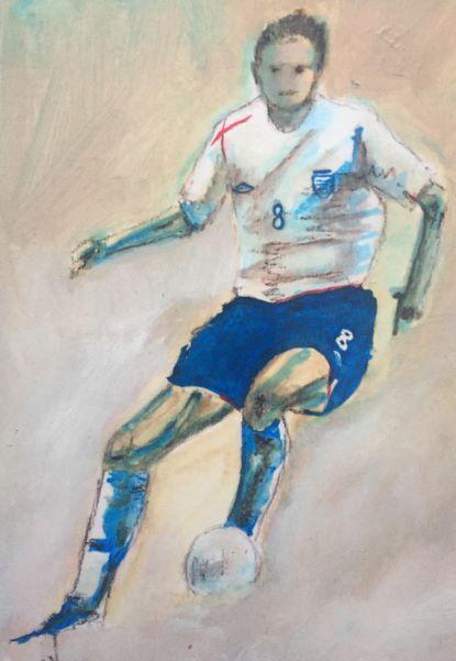 England Footballer, no. 8