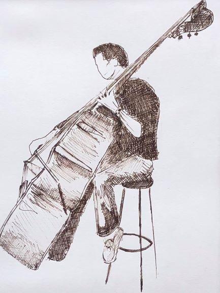 Double Bass Musician