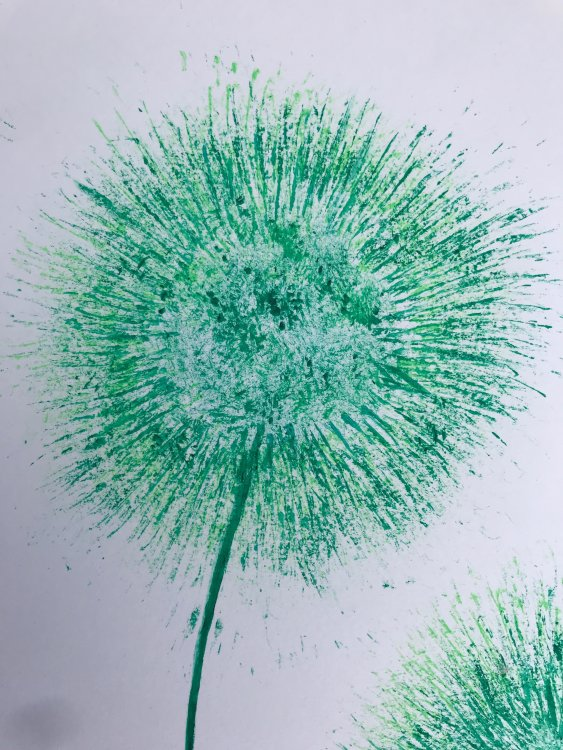 Acrylic Green detail