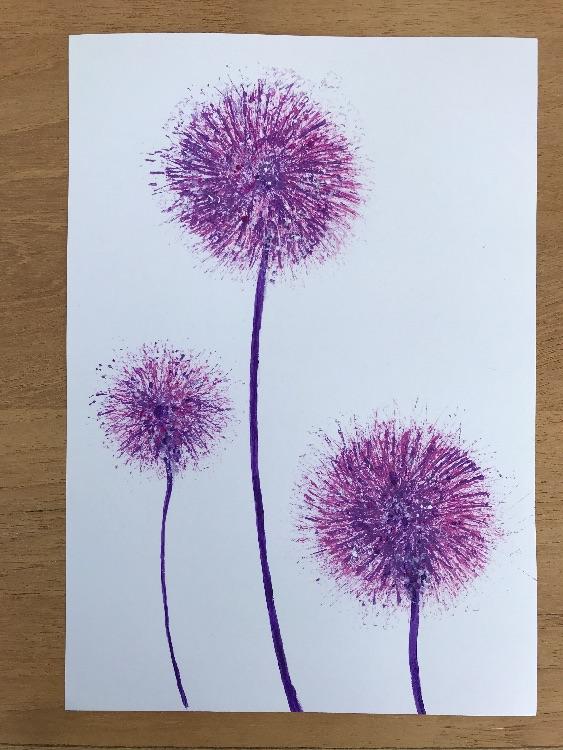 Acrylic Purple