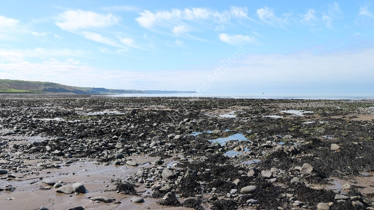 Llanon rock pools