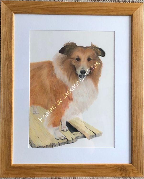 Pastel framed Mickey