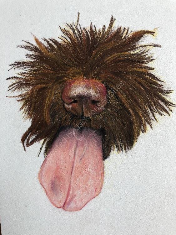 Pastel tongue