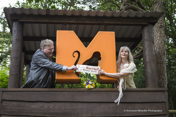 Monkey World Wedding