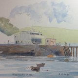 Tobermory, Mull watercolour sketch