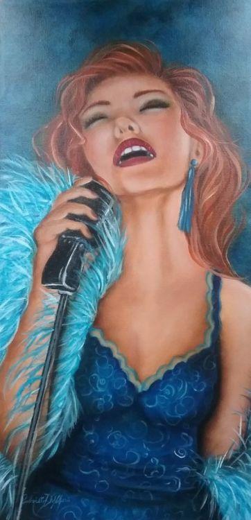 Belle chanteuse