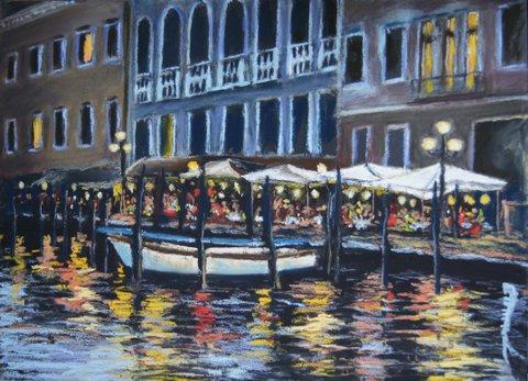 Terrasse à Venise