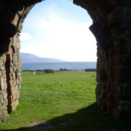 Skipness Castle - Scotland - www.whitehouseart.co.uk