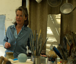 Fiona Macrae at Work in Argyll - www.whitehouseart.co.uk