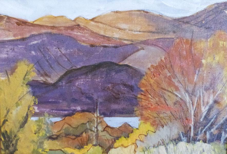 First Autumn - Oil - Karen Beauchamp