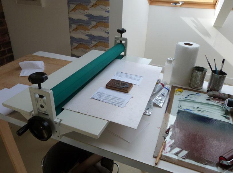 Lino Printing Press