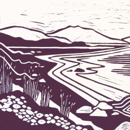 Sipness Lino Print