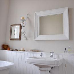 Bathroom in the tower - www.whitehouseart.co.uk
