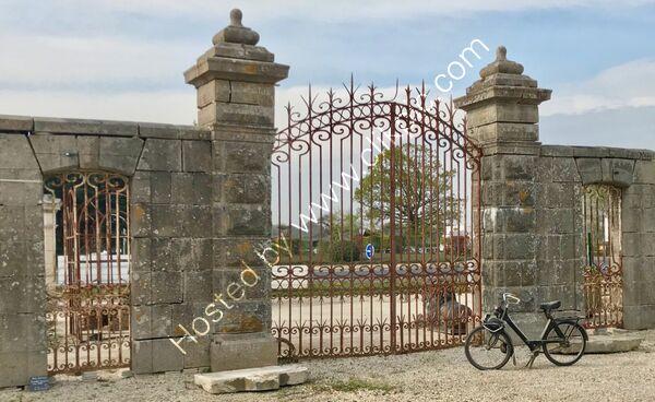 19th century granite gate