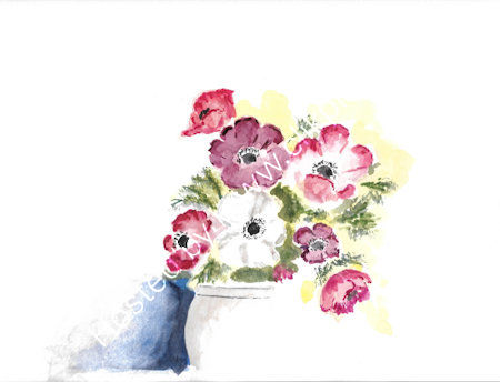 Watercolour on 12x9