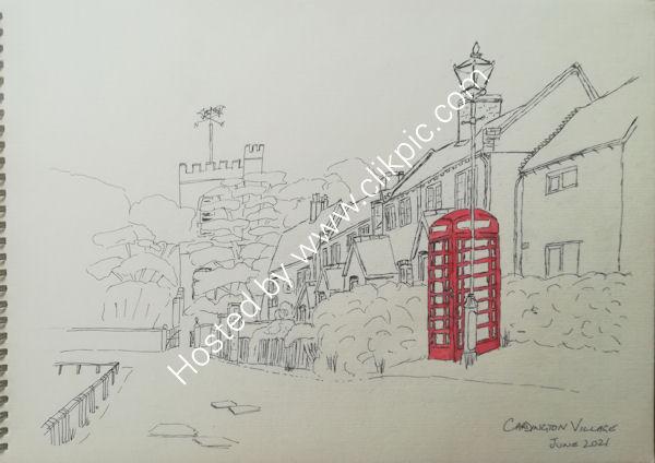 Cardington village