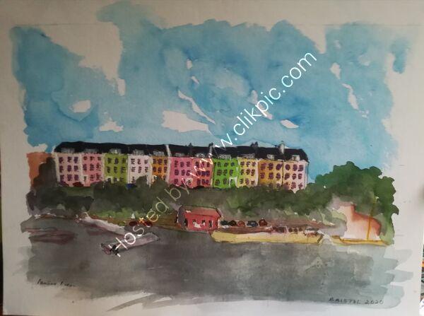 A3 Watercolours