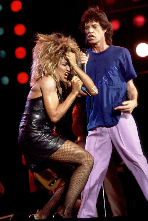 Music - Tina Turner and Mick Jagur
