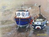 Boats at Staithes