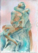 Rodin's Kiss