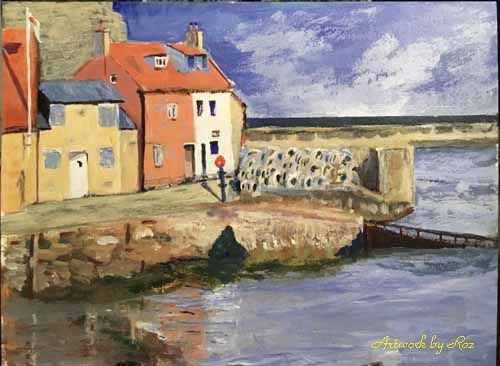 Staithes lifeboat cottages