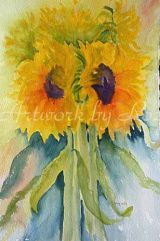 Sunflowers loose