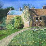 Cottage in a Field