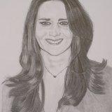 Kate Middleton in Graphite